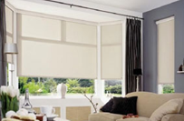 roller blind living room